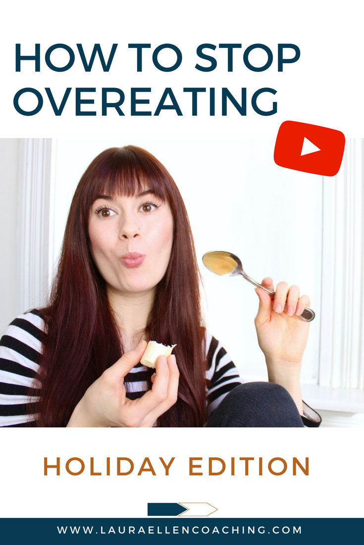 How to Stop Overeating Holiday edition