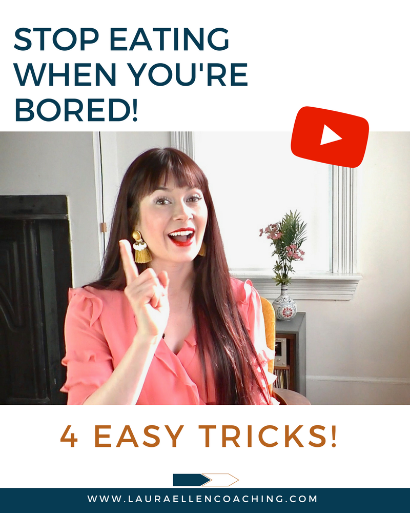 4 tricks to top eating when you're bored!
